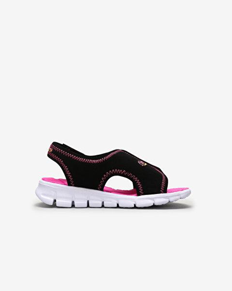 Synergy - Aqua Breeze Küçük Kız Çocuk Siyah Sandalet-1