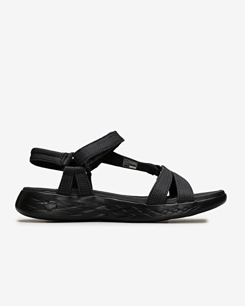 On-The-Go 600 - Brilliancy Kadın Siyah Sandalet 15316 BBK-1