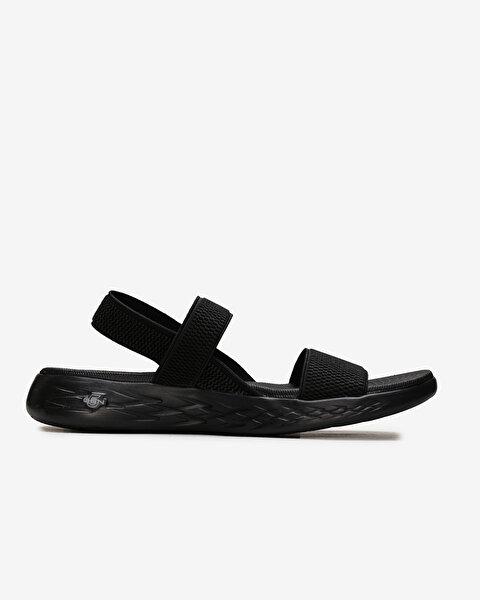 On-The-Go 600 - Flawless Kadın Siyah Sandalet 15312 BBK-1