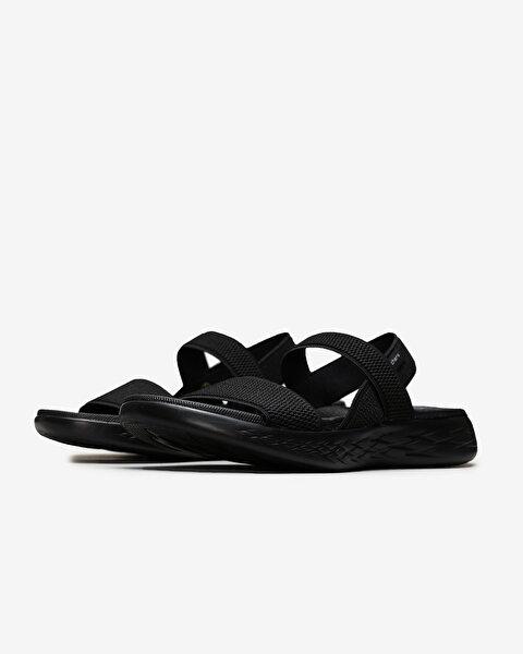 On-The-Go 600 - Flawless Kadın Siyah Sandalet 15312 BBK-2