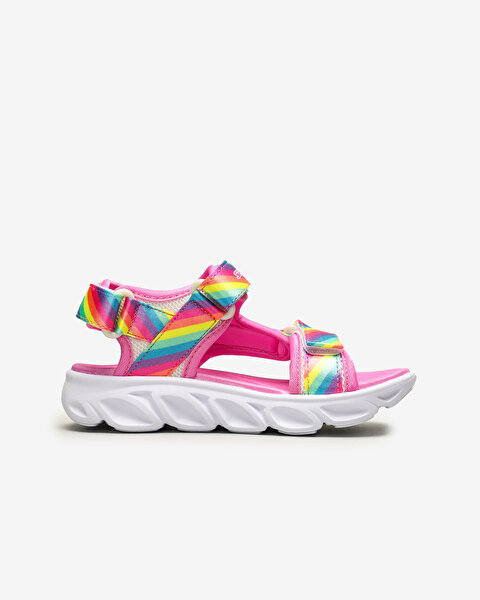 Hypno-Flash - Rainbow Lights Büyük Kız Çocuk Çoklu Sandalet-1