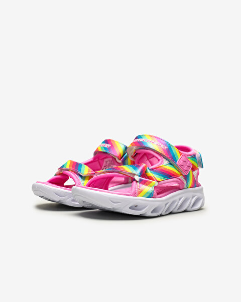 Hypno-Flash - Rainbow Lights Büyük Kız Çocuk Çoklu Sandalet-2