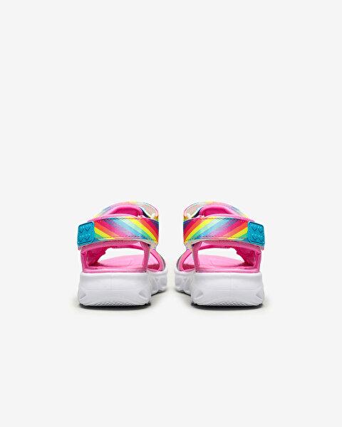 Hypno-Flash - Rainbow Lights Büyük Kız Çocuk Çoklu Sandalet-3