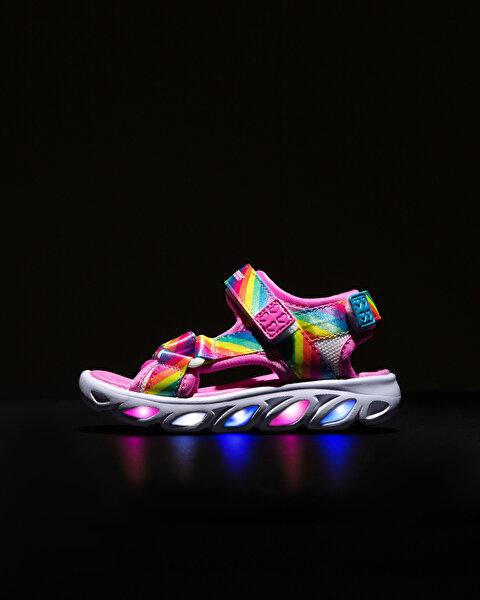 Hypno-Splash-Rainbow Lights Küçük Kız Çocuk Çoklu Sandalet