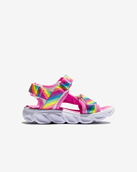 Hypno-Splash-Rainbow Lights Küçük Kız Çocuk Çoklu Sandalet-3