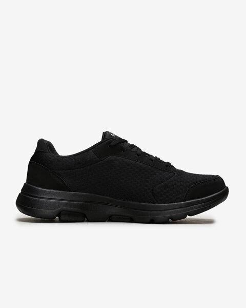 Go Walk 5 - Qualify Erkek Siyah Yürüyüş Ayakkabısı 55509 BBK-1