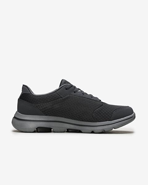 Go Walk 5-Qualify Erkek Gri Yürüyüş Ayakkabısı 55509 CCBK-1