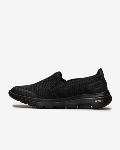 Go Walk 5 - Apprize Erkek Siyah Yürüyüş Ayakkabısı 55510 BBK