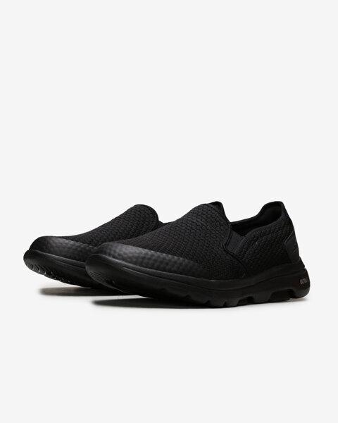 Go Walk 5 - Apprize Erkek Siyah Yürüyüş Ayakkabısı 55510 BBK-2