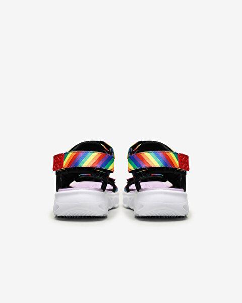 Hypno-Splash-Rainbow Lights Büyük Kız Çocuk Siyah Sandalet-3
