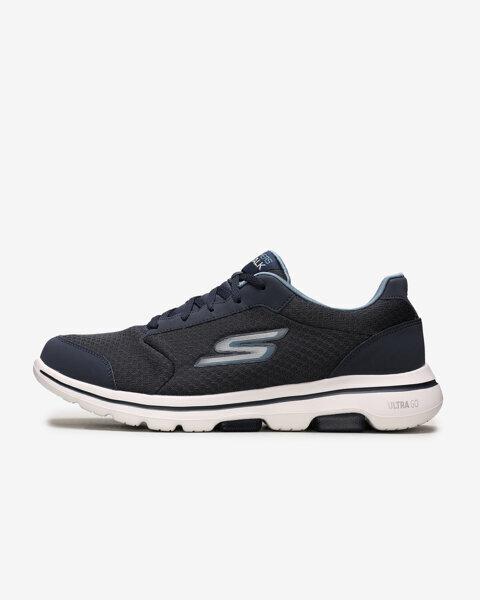 Go Walk 5 - Qualify Erkek Lacivert Yürüyüş Ayakkabısı