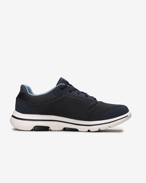 Go Walk 5 - Qualify Erkek Lacivert Yürüyüş Ayakkabısı-1