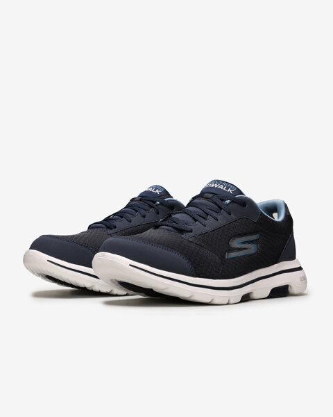 Go Walk 5 - Qualify Erkek Lacivert Yürüyüş Ayakkabısı-2