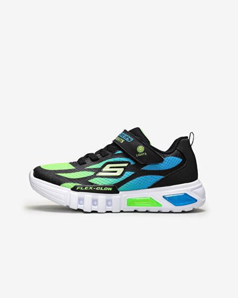 Flex-Glow-Dezlo Büyük Erkek Çocuk Siyah Spor Ayakkabı