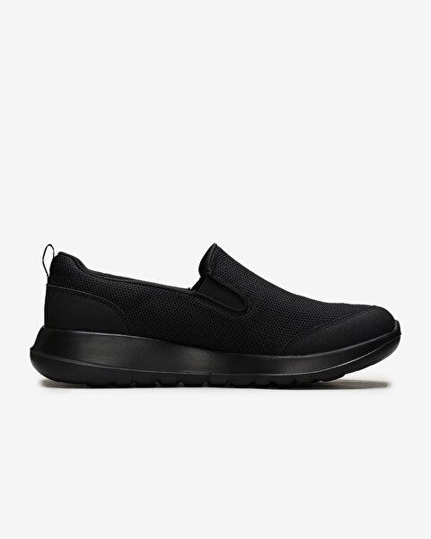 Go Walk Max - Clinched Erkek Siyah Yürüyüş Ayakkabısı-1