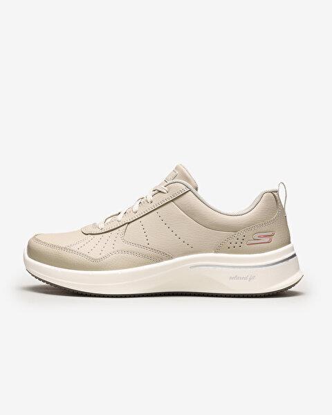 Go Walk Steady - Kadın Bej Yürüyüş Ayakkabısı 124111 TPE