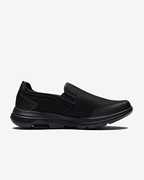 Go Walk 5 - Delco Erkek Siyah Yürüyüş Ayakkabısı 216013 BBK-1
