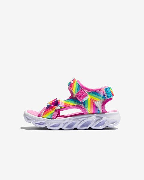 Hypno-Splash-Rainbow Lights Küçük Kız Çocuk Siyah Sandalet