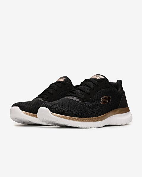 Bountiful Kadın Siyah Spor Ayakkabı 12606 BKRG-2