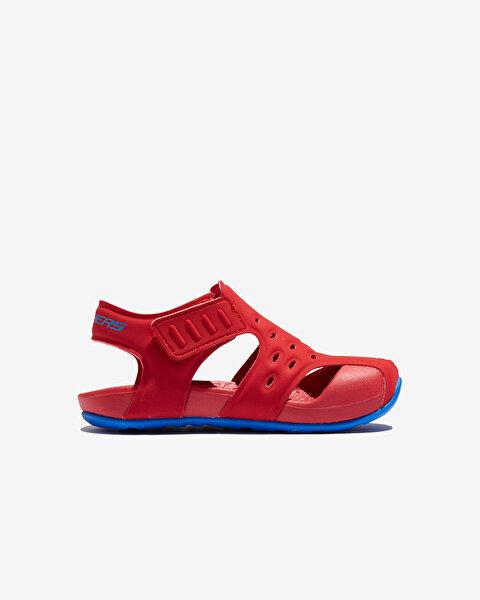 Side Wave Küçük Erkek Çocuk Kırmızı Sandalet 92330N RDBL-1