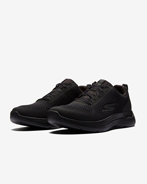 Go Walk Arch Fit-Idyllic Erkek Siyah Yürüyüş Ayakkabısı-2