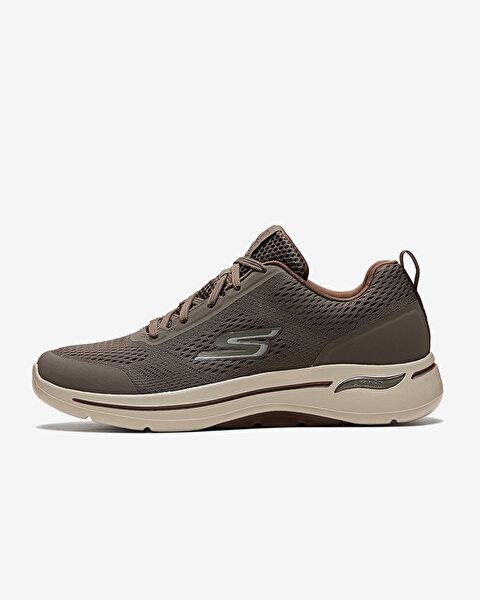Go Walk Arch Fit-Idyllic Erkek Bej Yürüyüş Ayakkabısı