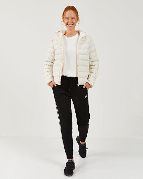 Outerwear W Padded Lightweight Hooded Jacket Kadın Bej Mont-3