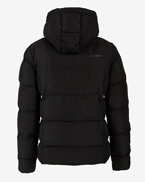 Resim Outerwear W Padded Seamless Hooded Jacket