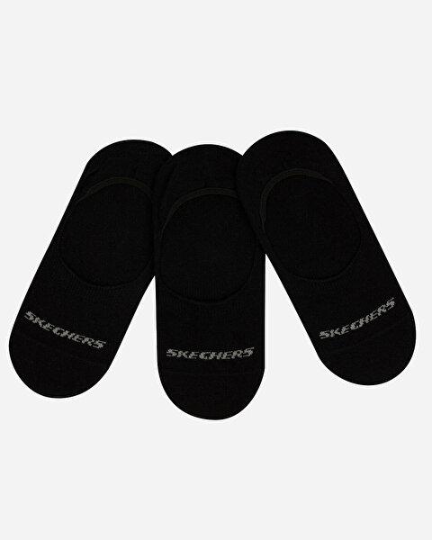 U Skx No Show Socks 3 Pack Unisex Siyah Çorap S192134-001