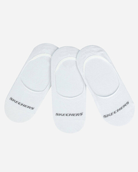 U Skx No Show Socks 3 Pack Unisex Beyaz Çorap S192134-100