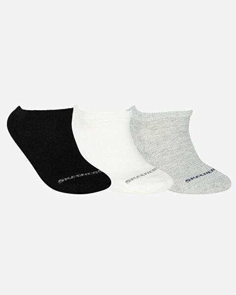 U Skx Padded Low Cut Socks 3 Pack Unisex Multi Çorap