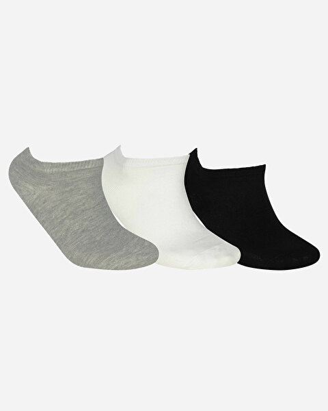 U Skx Nopad Low Cut Socks 3 Pack Unisex Multi Çorap