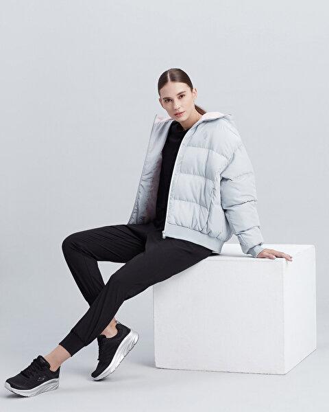 Resim W Puffer Flexi Hooded Jacket